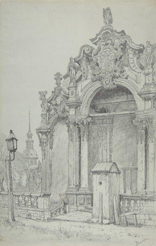 Samuel Prout - The Zwinger, Dresden