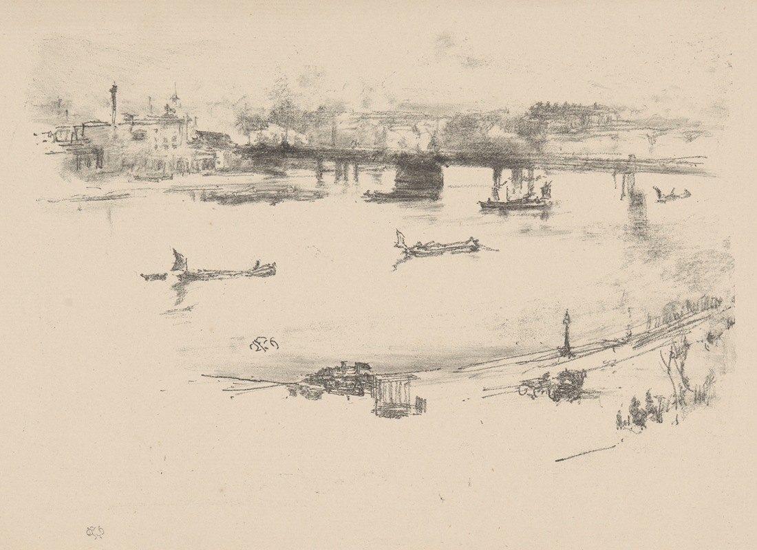 James McNeill Whistler - Charing Cross Railway Bridge