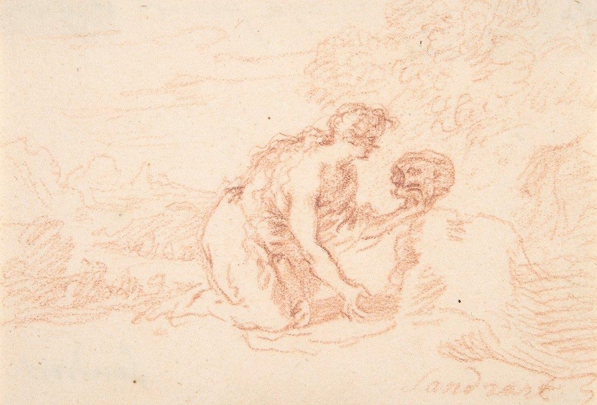 Joachim Von Sandrart - Mary Magdalen Penitent