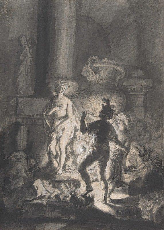 Joachim Von Sandrart - Pygmalion