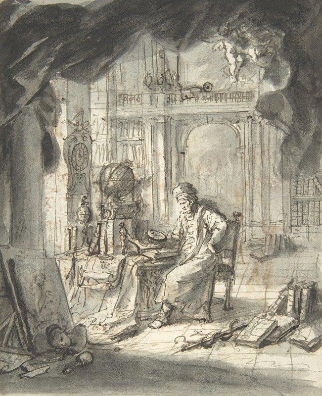 Martin Johann Schmidt - An Oriental Astronomer in His Study
