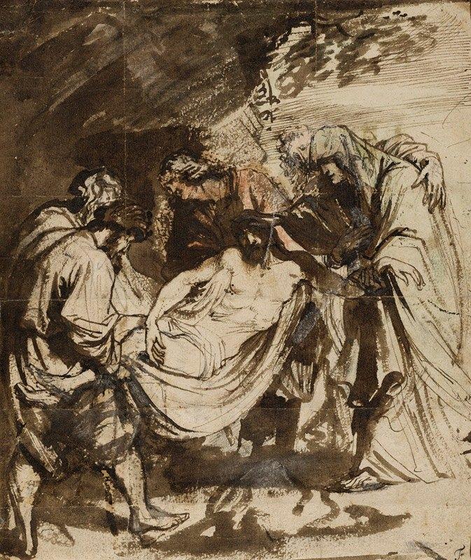 Anthony van Dyck - The Entombment