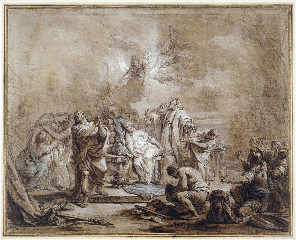 Charles-André van Loo - The Sacrifice of Iphigenia
