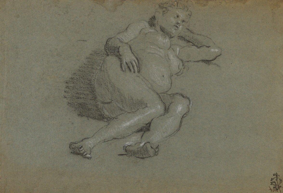 Domenico Tintoretto - Reclining Female Nude