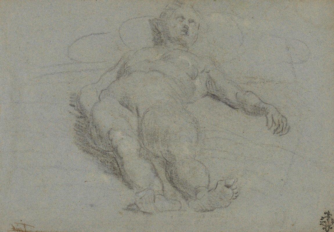 Domenico Tintoretto - Reclining Female Nude early