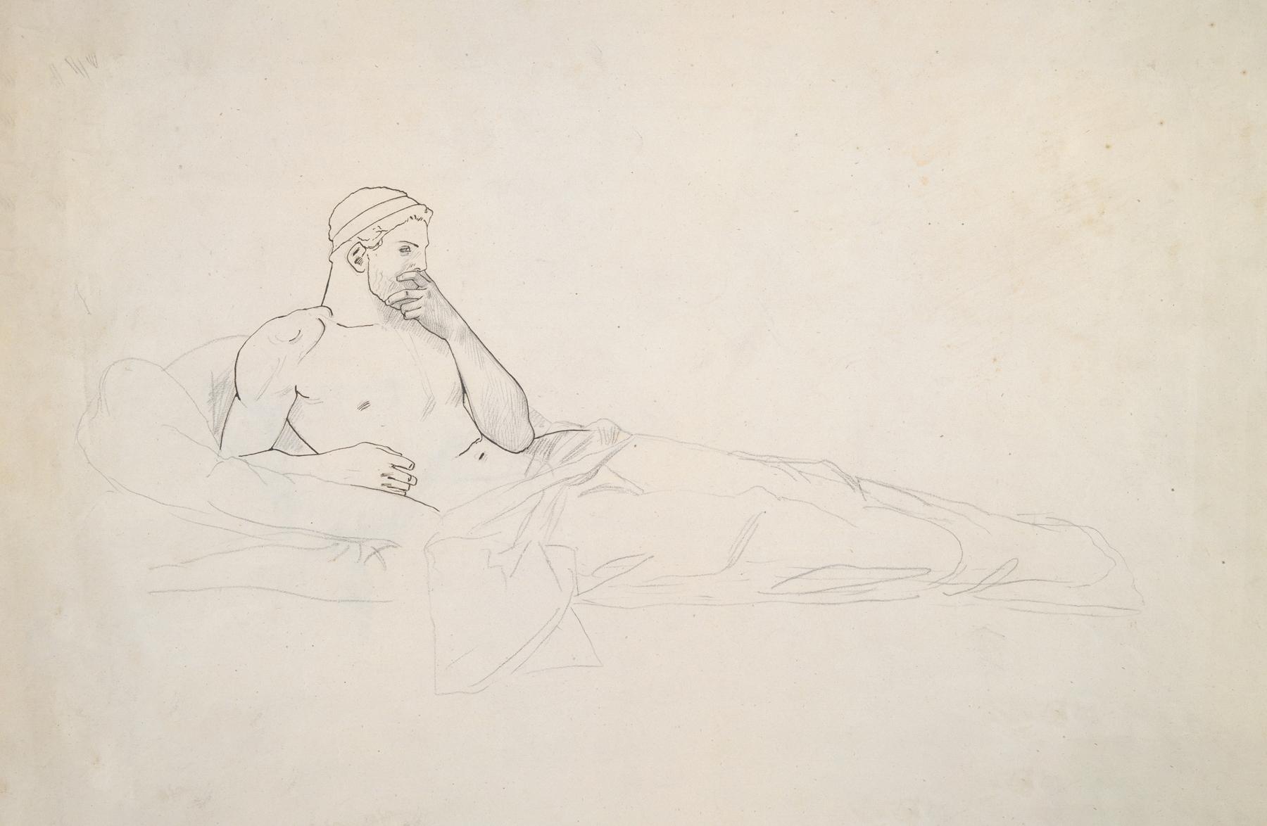 Jean-Léon Gérôme - Study for King Candaules