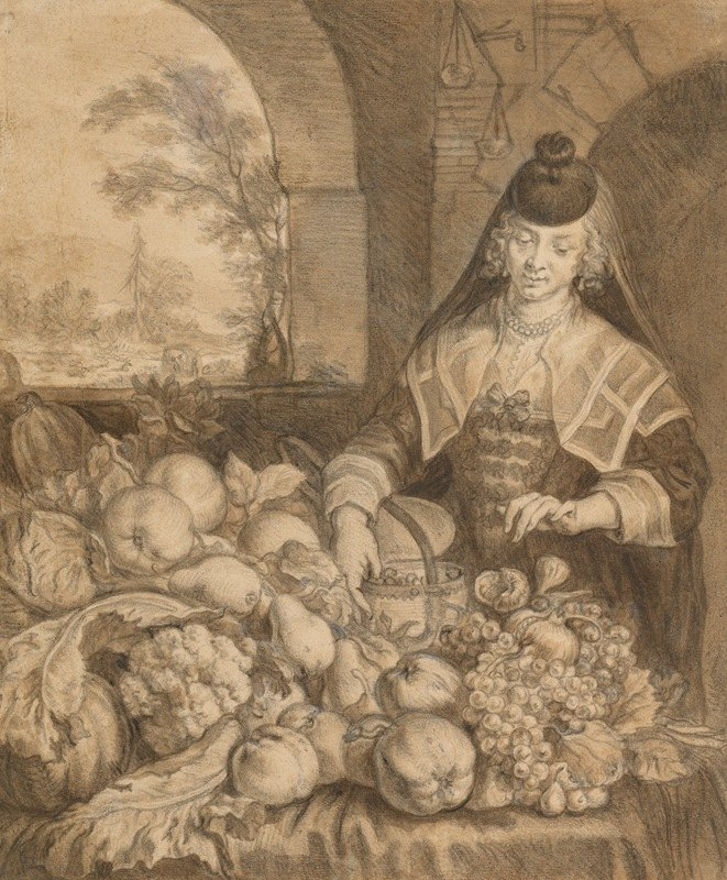 Joachim Von Sandrart - Personification of September
