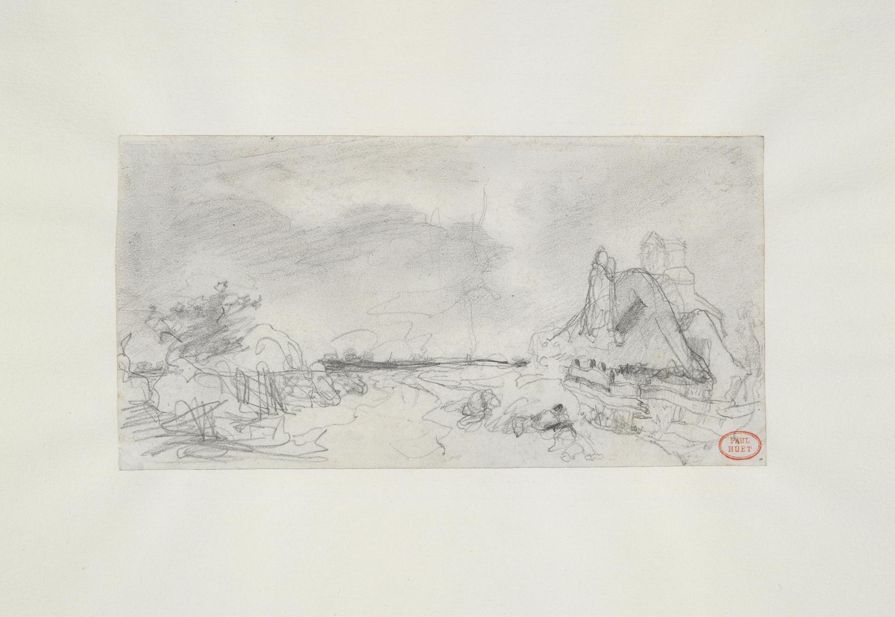 Paul Huet - Landscape