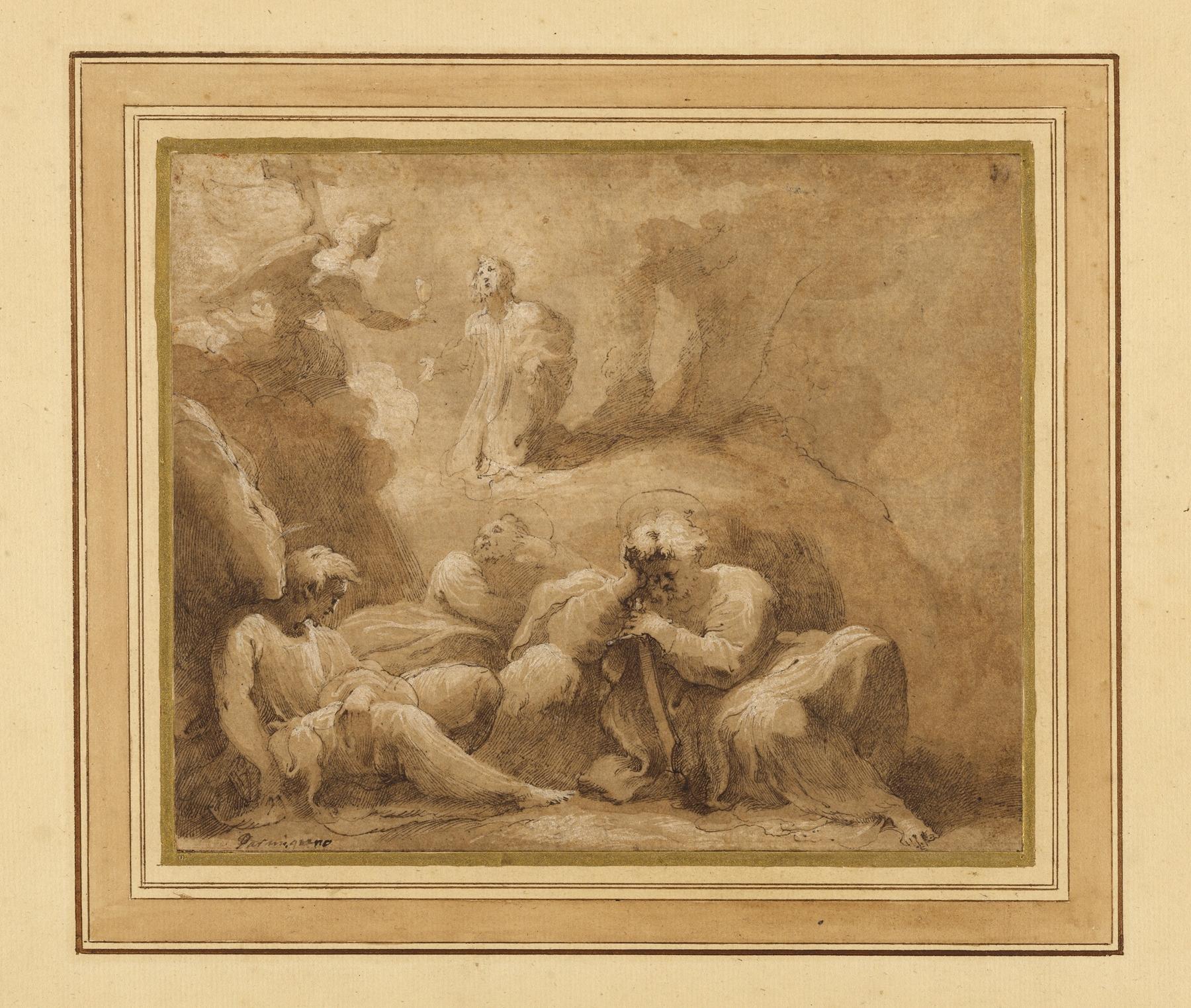 Valerio Castello - The Agony in the Garden