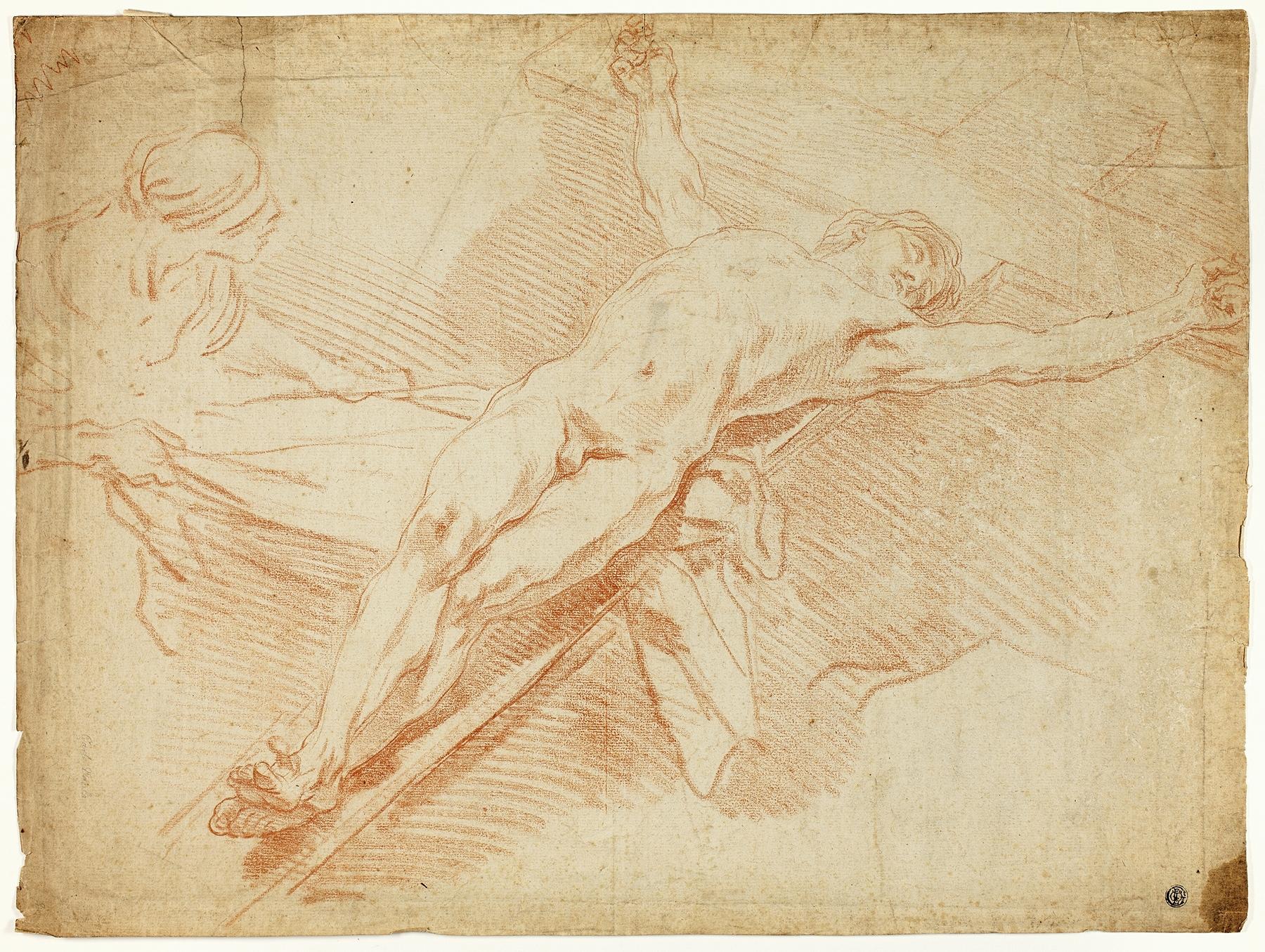 Charles-André van Loo - Christ on the Cross