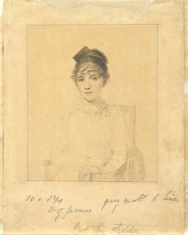 Elkanah Tisdale - Harriet Trumbull (Daughter of Gov. Jonathan Trumbull, Jr.; wife of Benjamin Silliman of YaleCollege)