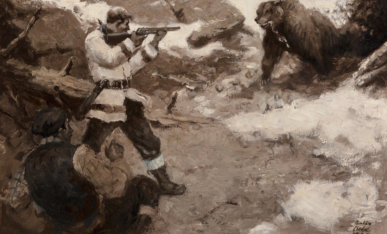 Benton Henderson Clark - Bear Hunters