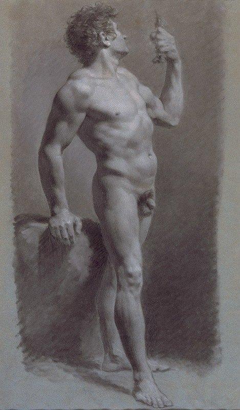 Pierre-Paul Prud'hon - Study of a Man