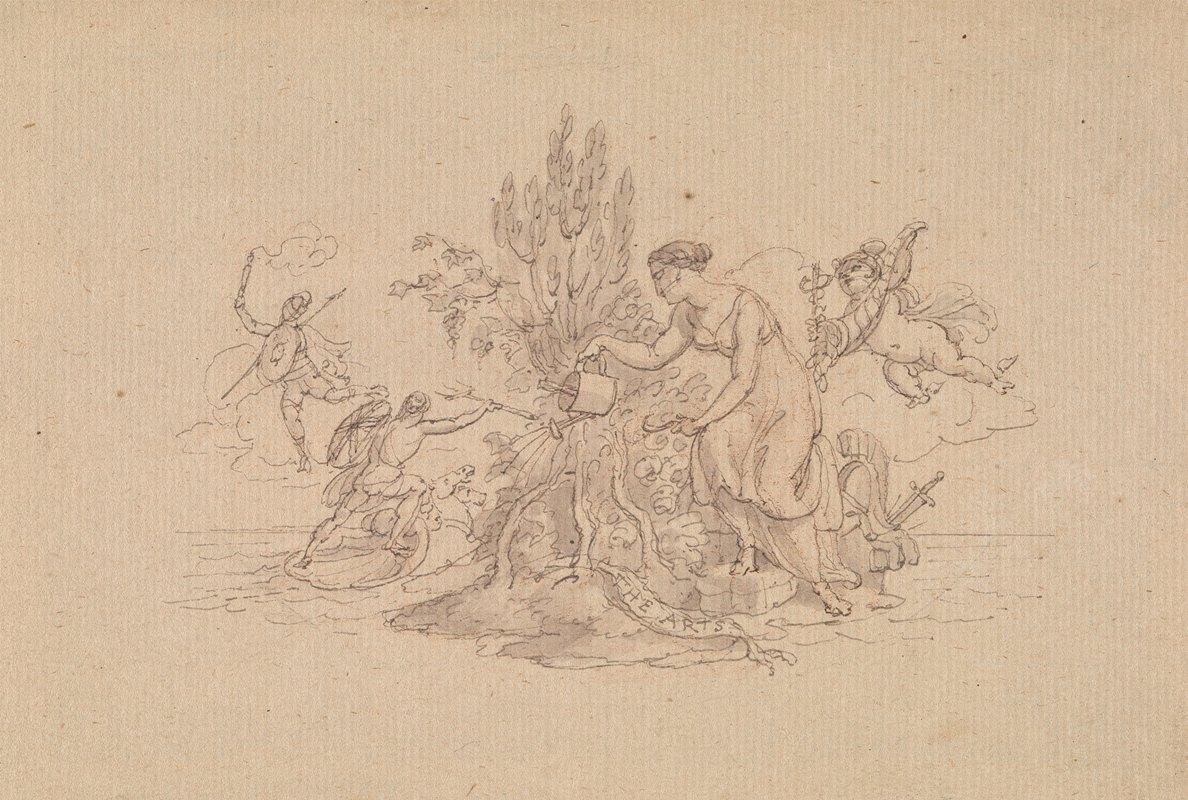 Edward Francis Burney - The Arts
