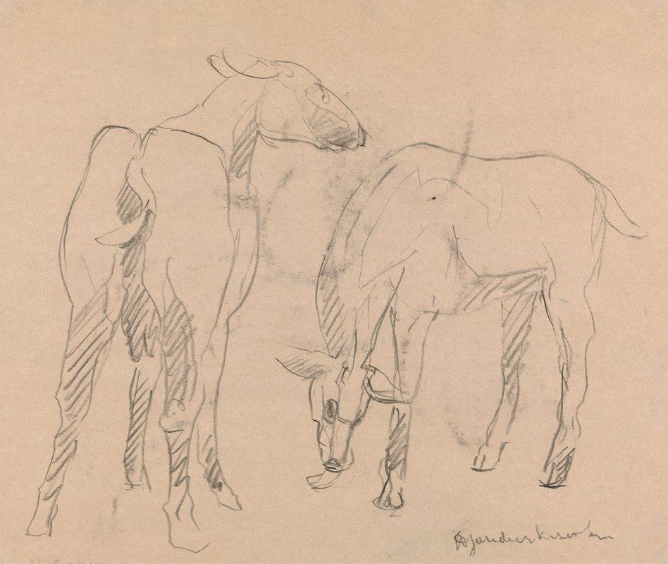 Henri Gaudier-Brzeska - Two Goats