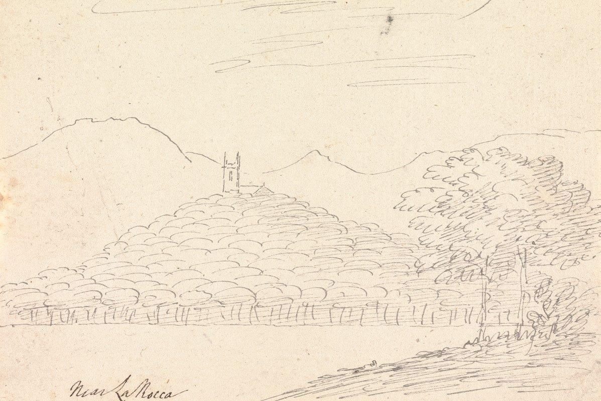 Henry Swinburne - Near La Rocca