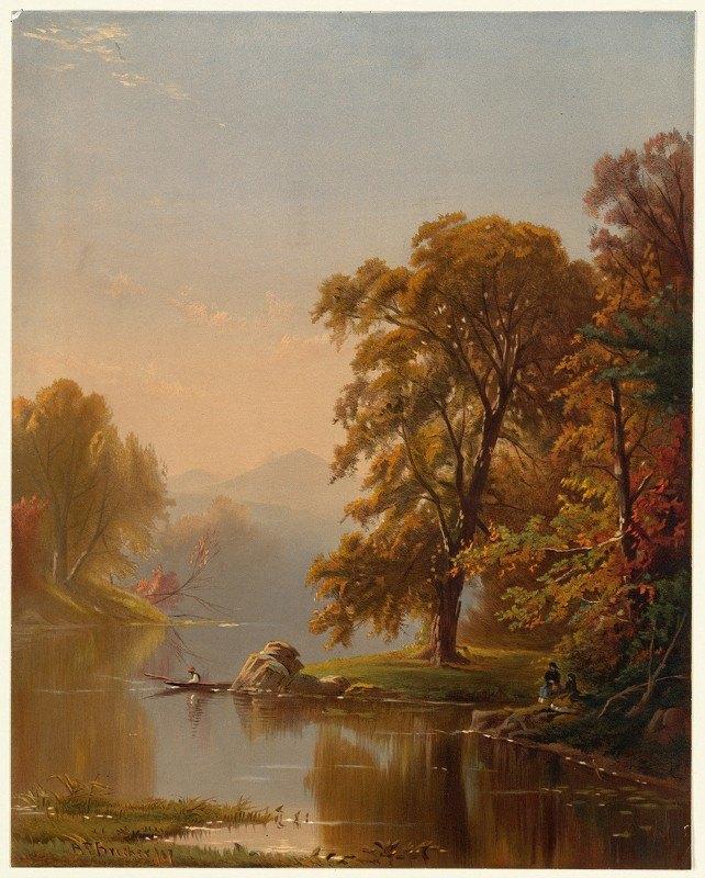 Alfred Thompson Bricher - Autumn