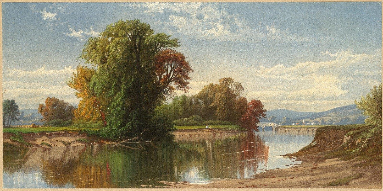 Alfred Thompson Bricher - Early Autumn on Esopus Creek
