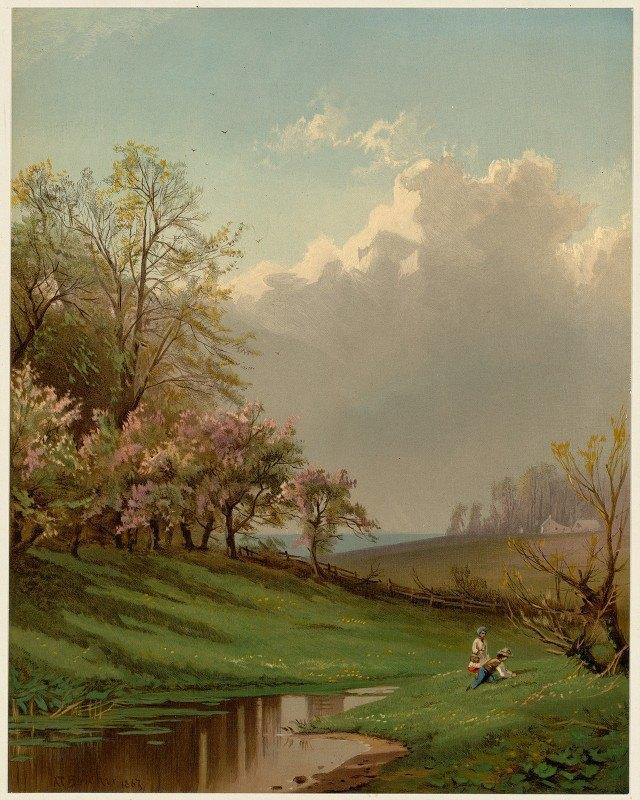 Alfred Thompson Bricher - Spring