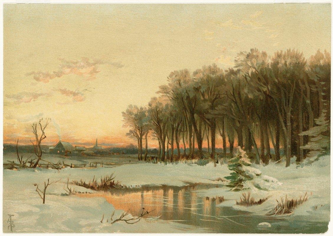 Alfred Thompson Bricher - Winter in Maine
