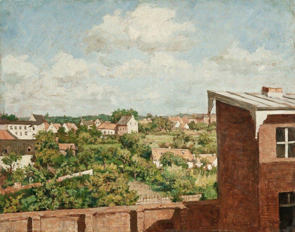 August Jernberg - View from Düsseldorf