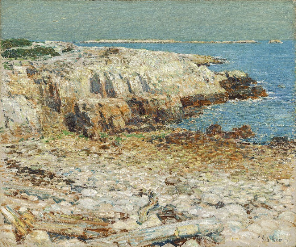 Childe Hassam - A North East Headland