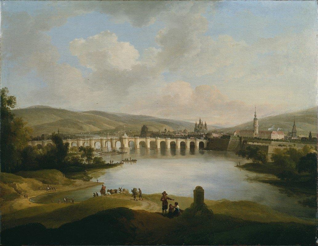 Christian Wilhelm Ernst Dietrich - View of a Town