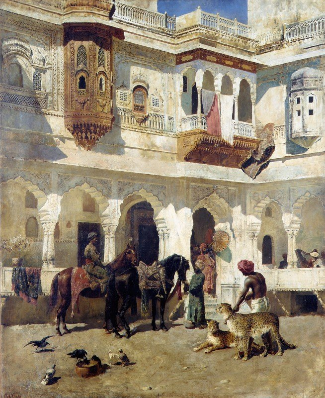 Edwin Lord Weeks - The Rajah Starting on a Hunt