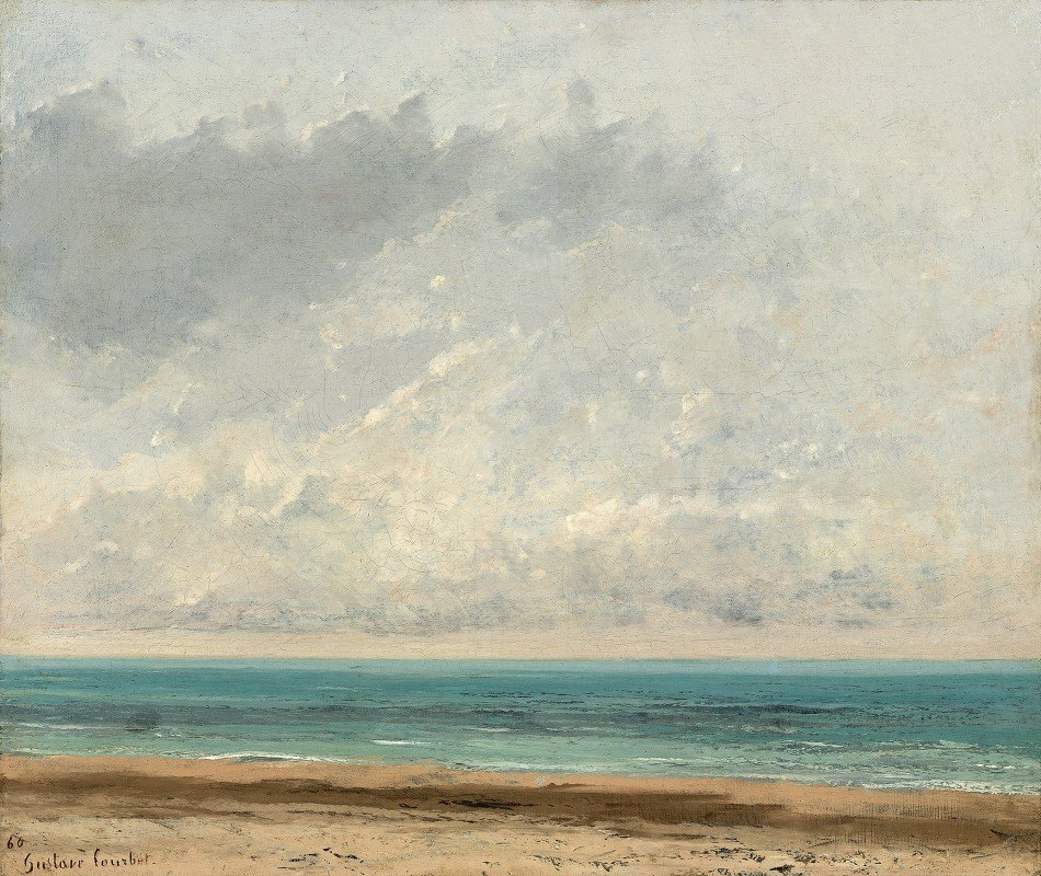 Gustave Courbet - Calm Sea