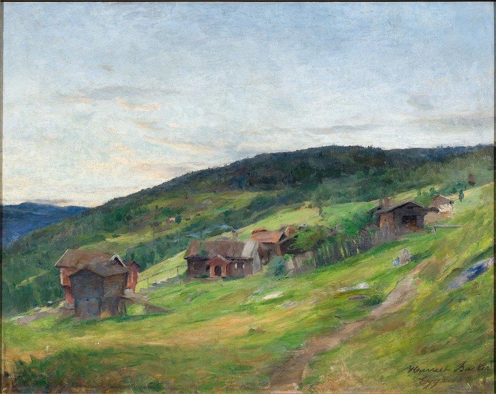 Harriet Backer - Landscape, Eggeda