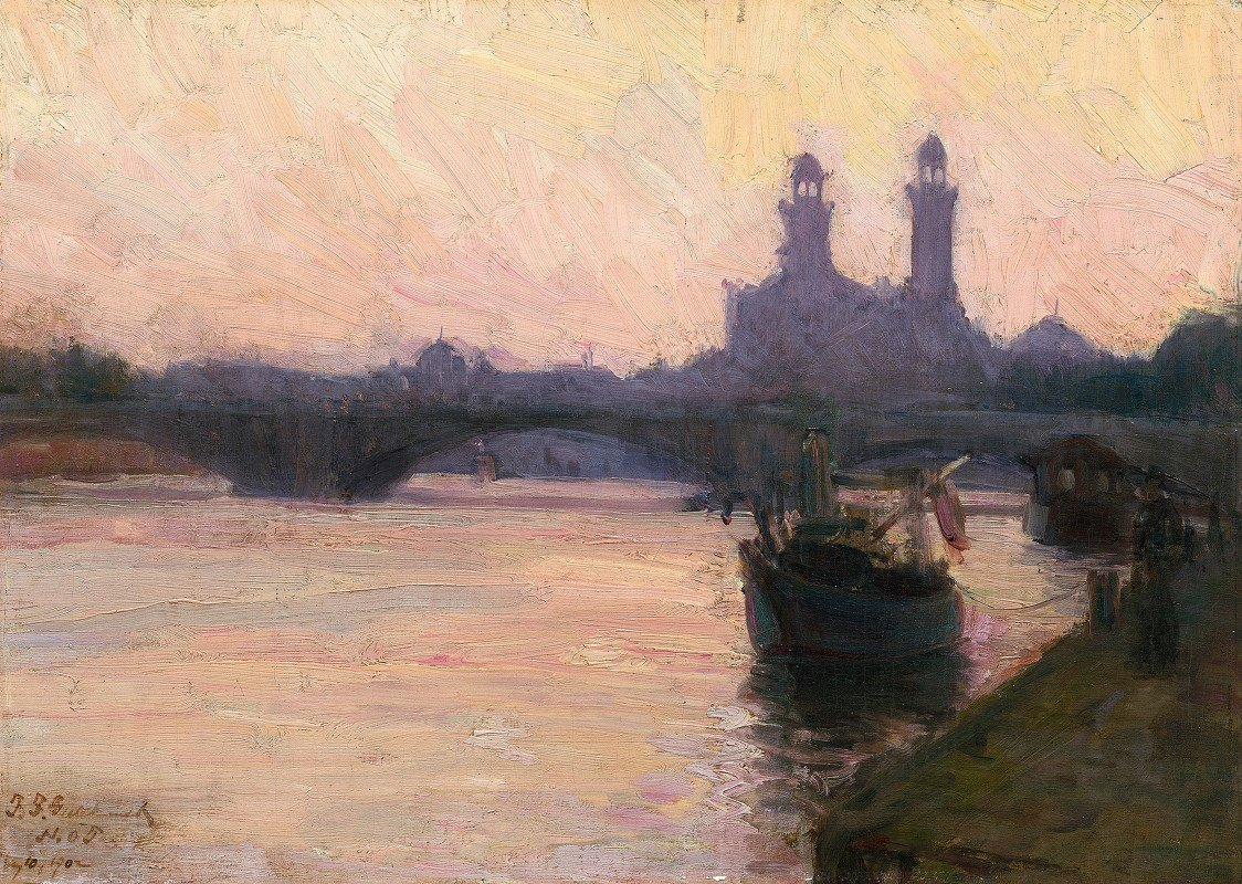 Henry Ossawa Tanner - The Seine