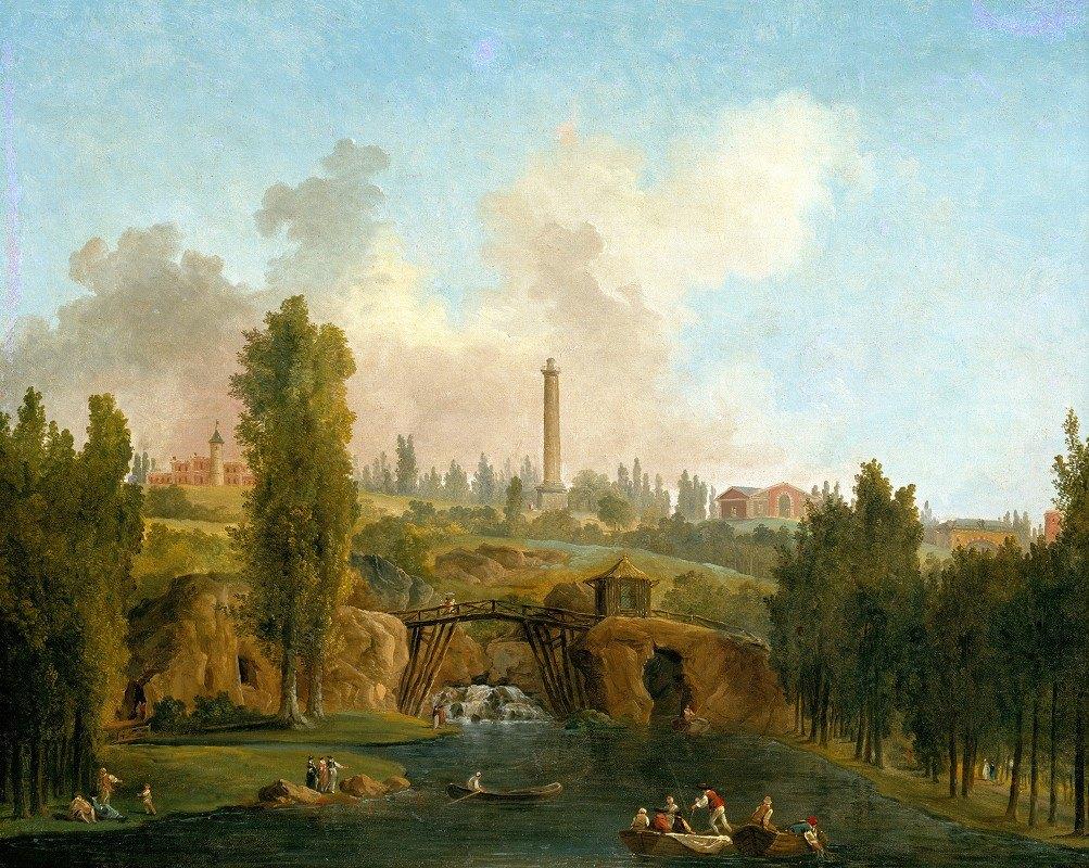 Hubert Robert - View of the Park of Méréville