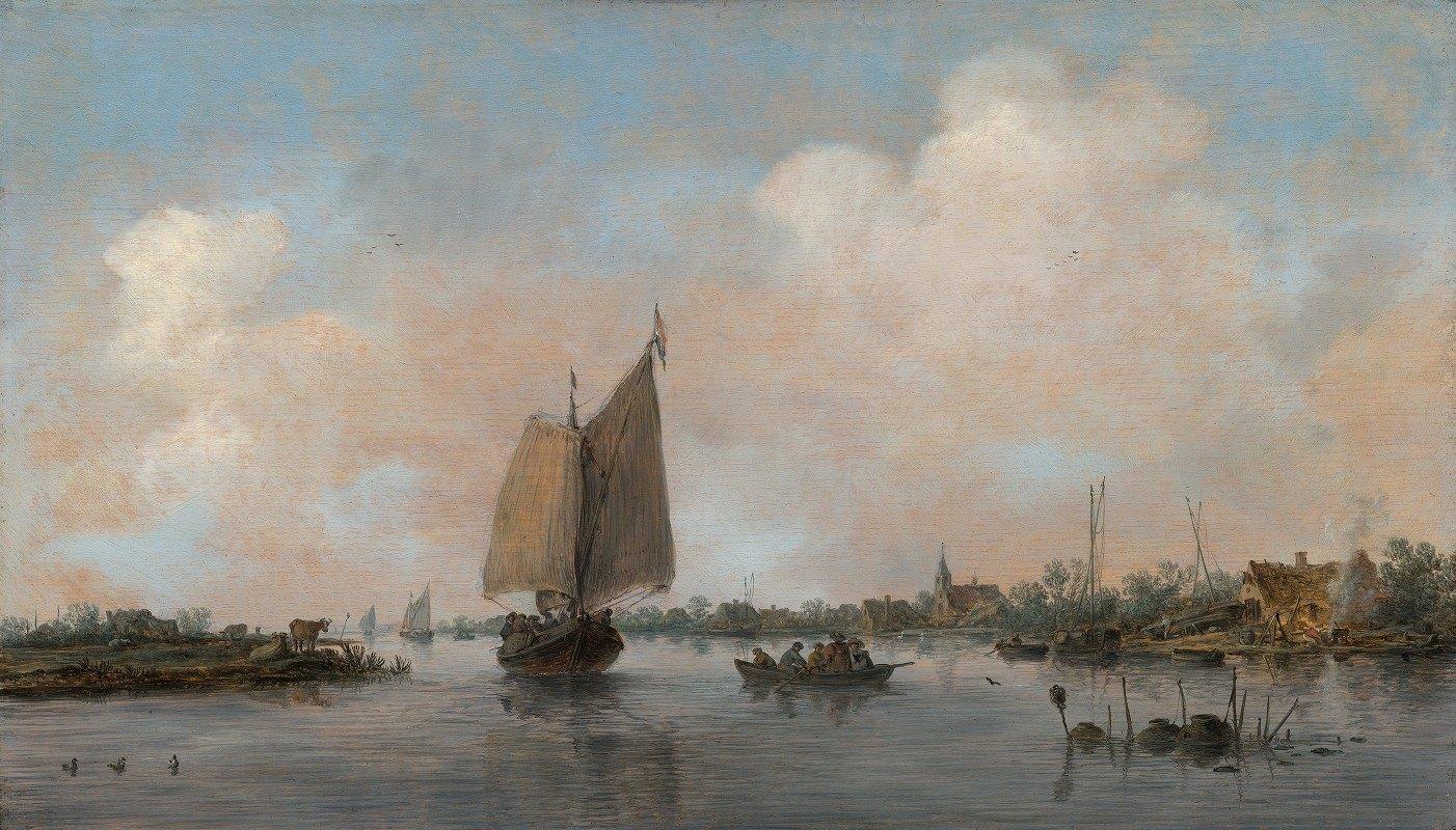 Jan van Goyen - River View