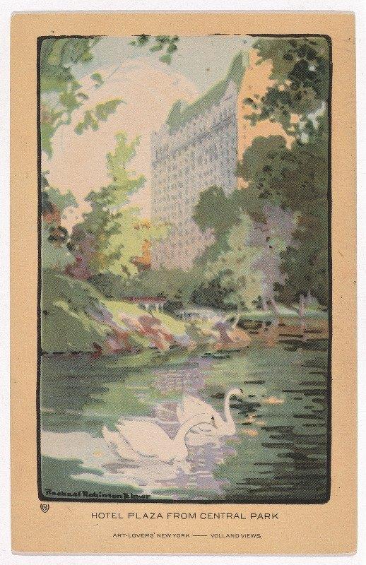 Rachael Robinson Elmer - Hotel Plaza from Central Park