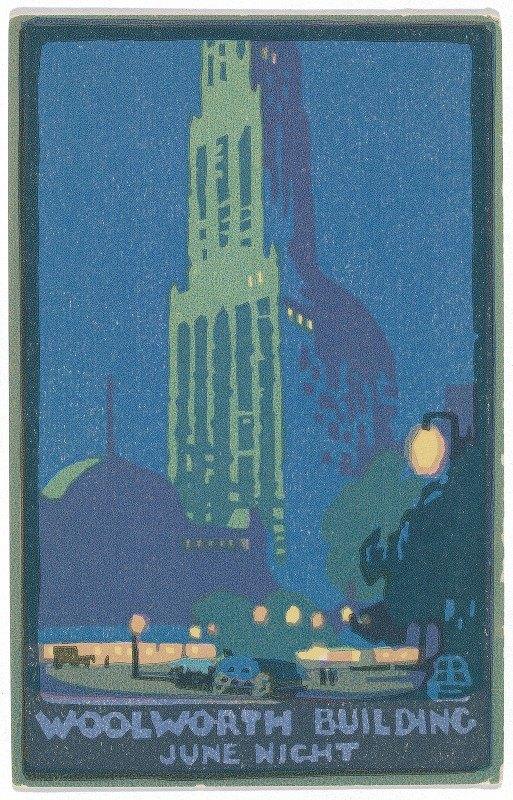 Rachael Robinson Elmer - Woolworth Building June Night