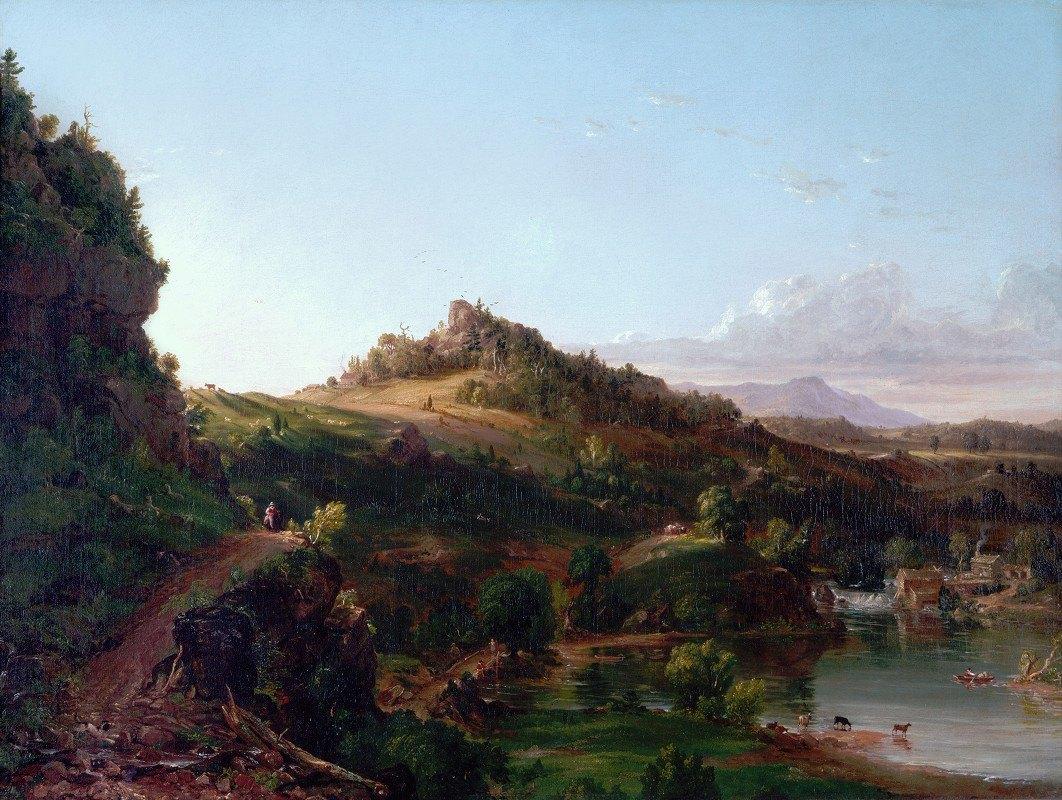 Thomas Cole - Catskill Scenery