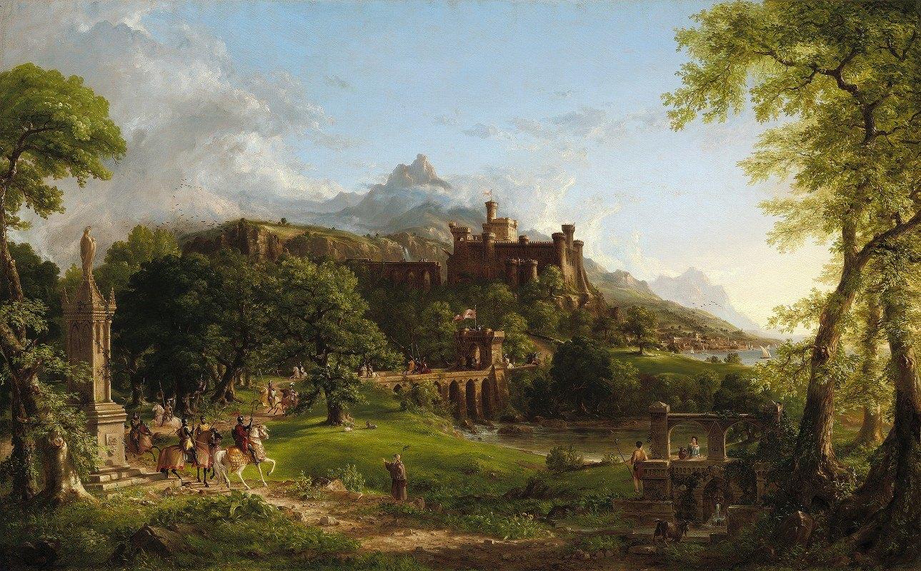 Thomas Cole - The Departure