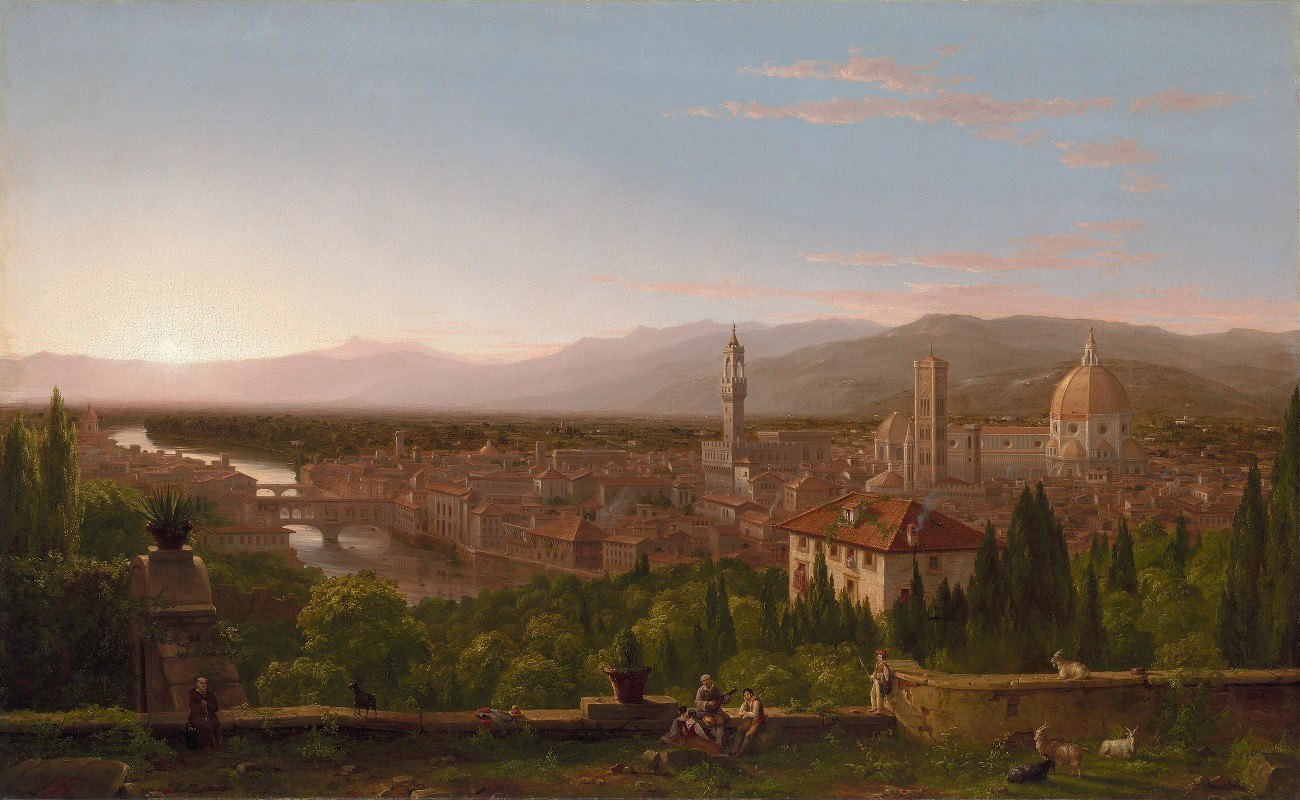 Thomas Cole - View of Florence