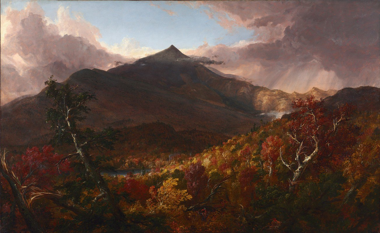 Thomas Cole - View of Schroon Mountain, Essex County, New York, After a Storm