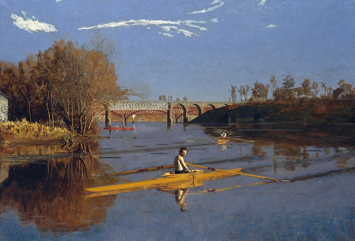 Thomas Eakins - The Champion Single Sculls (Max Schmitt in a Single Scull)