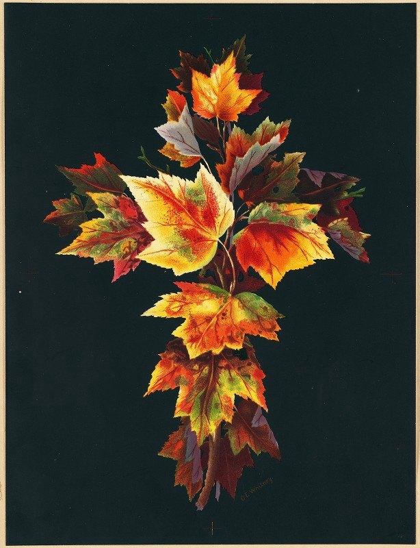 Olive E Whitney - Autumn Leaves