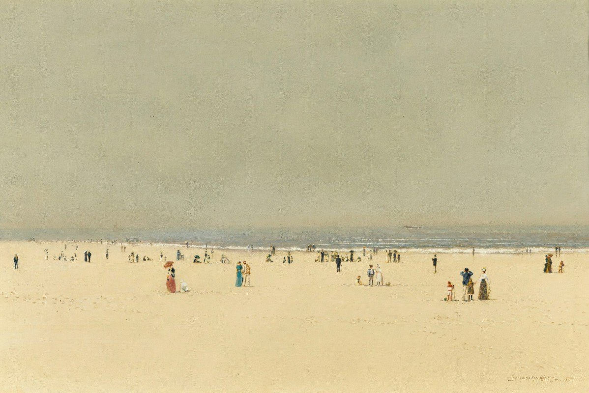 John Atkinson Grimshaw - Sand, Sea And Sky,a Summer Phantasy