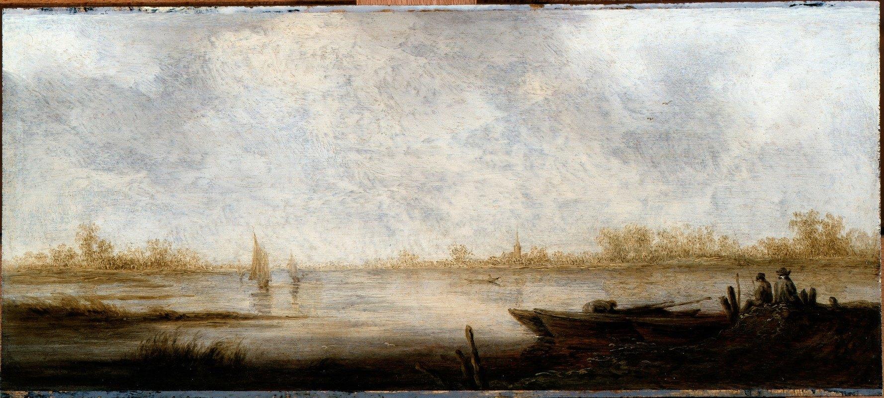 Aelbert Cuyp - River Landscape