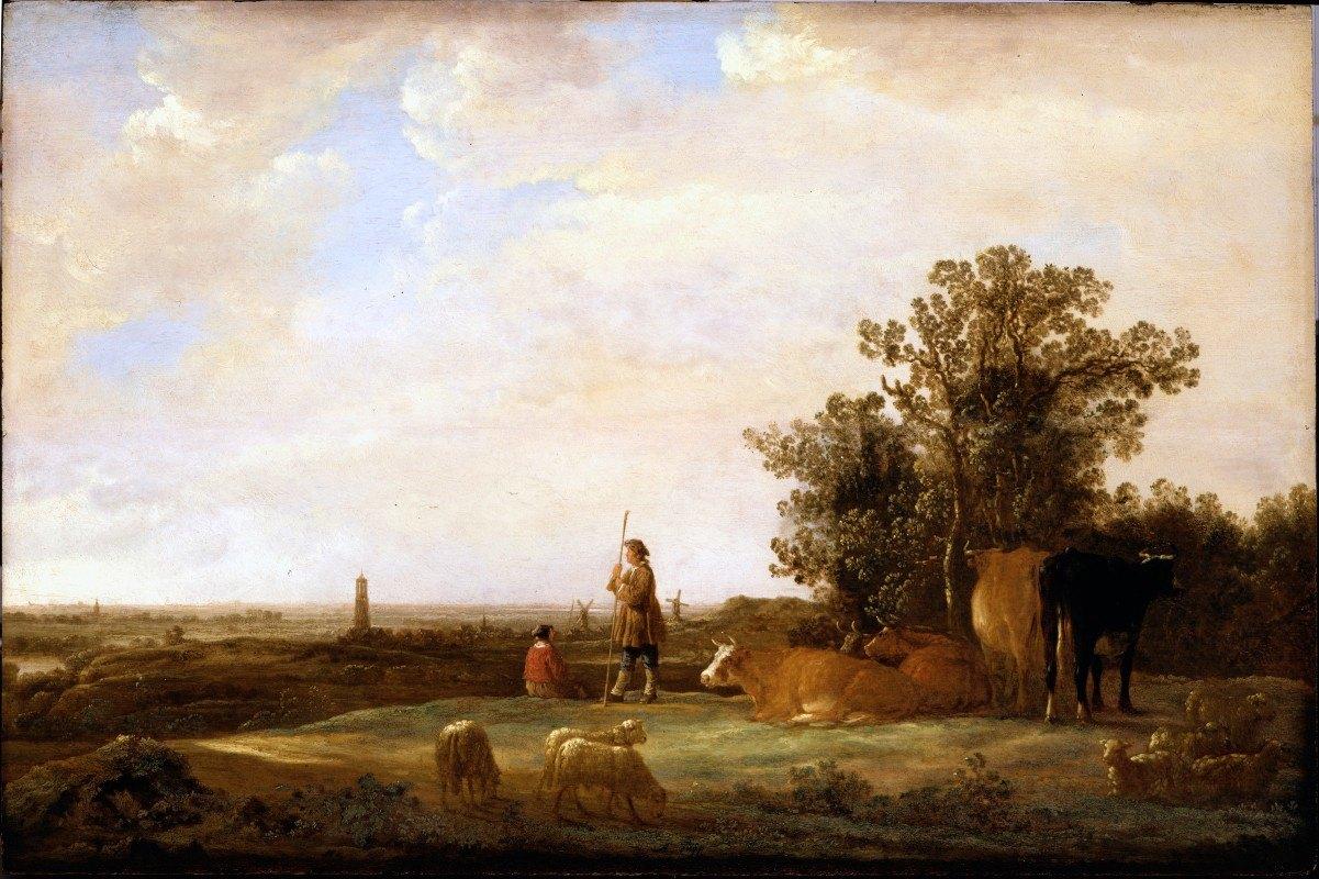 Aelbert Cuyp - View on a Plain