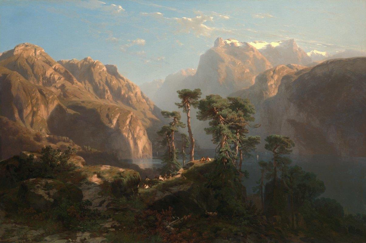 Alexandre Calame - Vierwaldstätter See