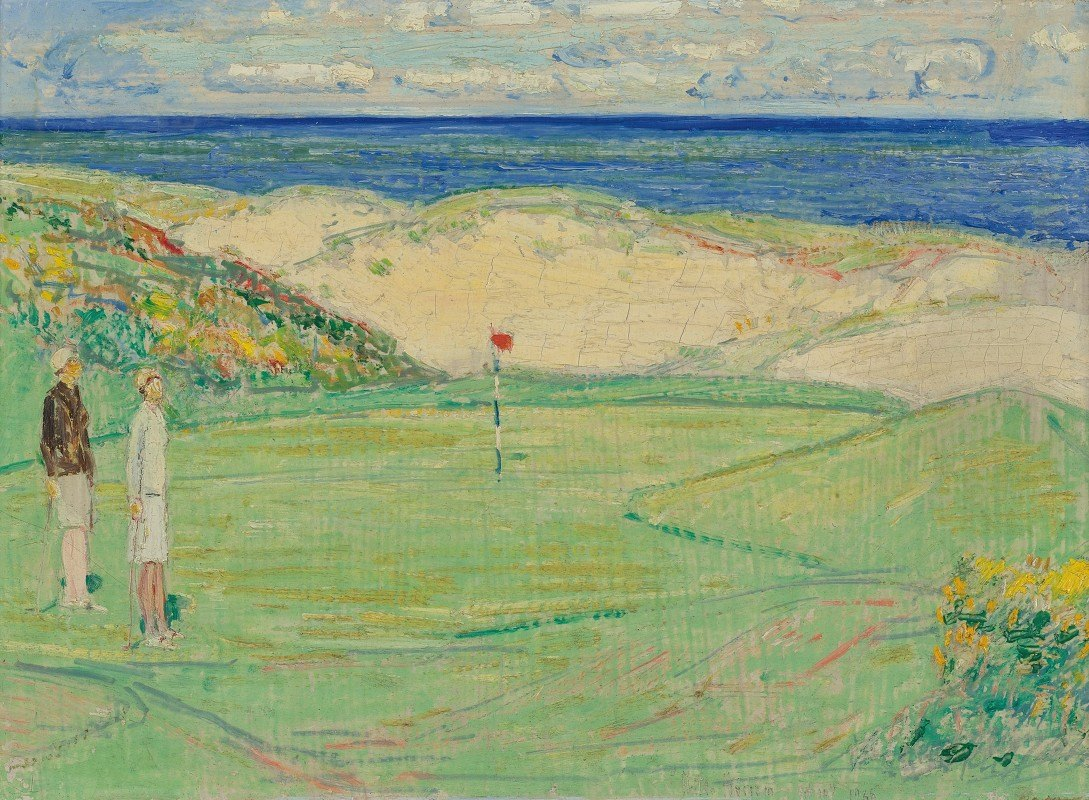 Childe Hassam - East Course, Maidstone Club