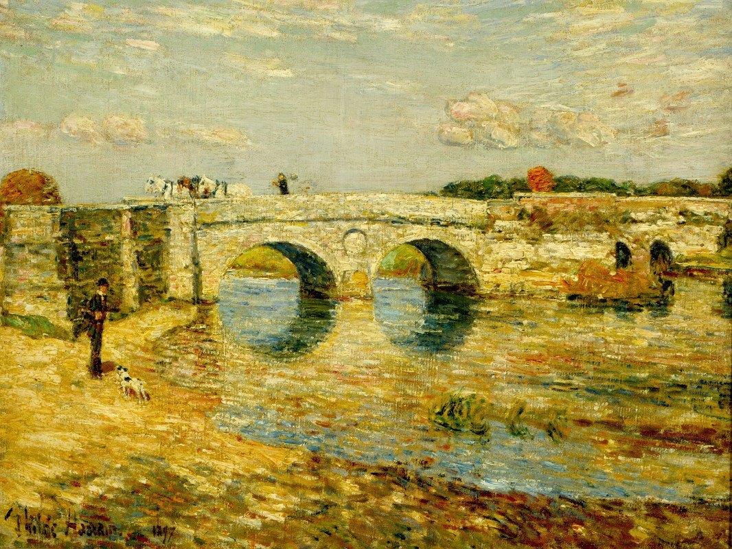 Childe Hassam - Bridge Over the Stour