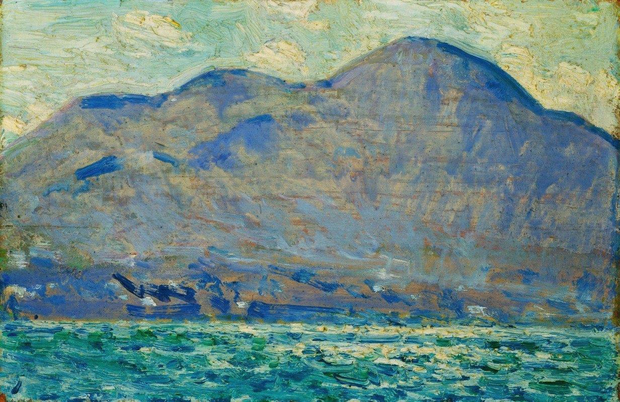 Childe Hassam - Mt. Beacon at Newburgh