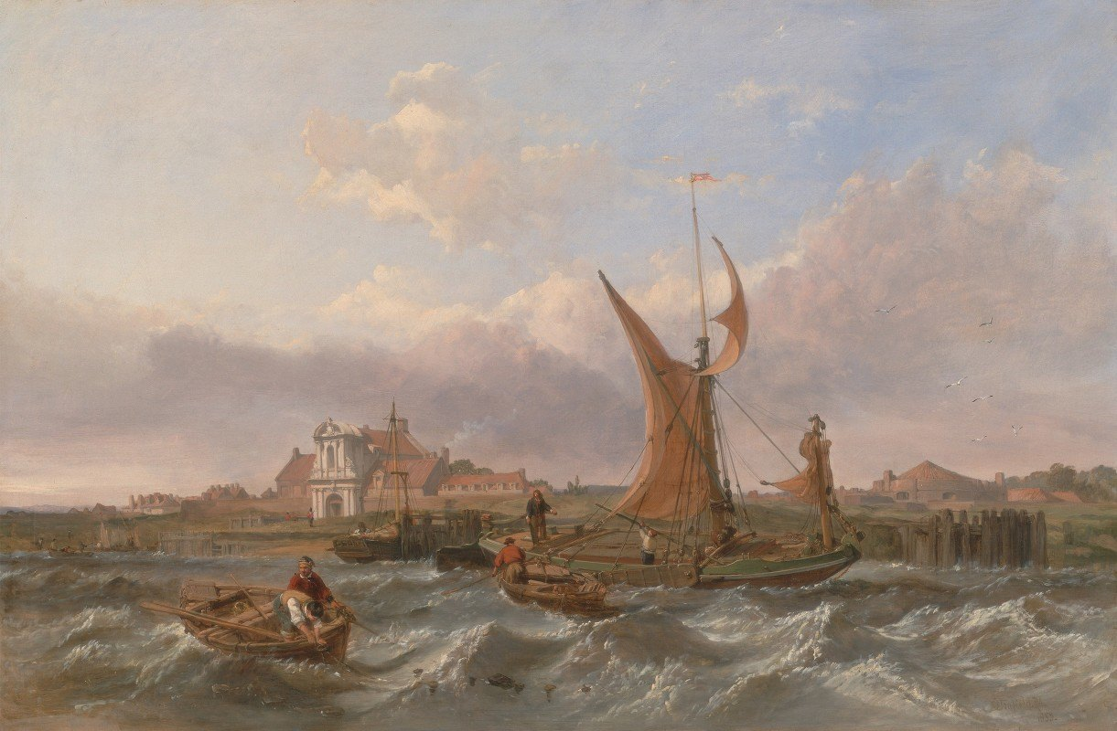 Clarkson Stanfield - Tilbury Fort–Wind Against the Tide