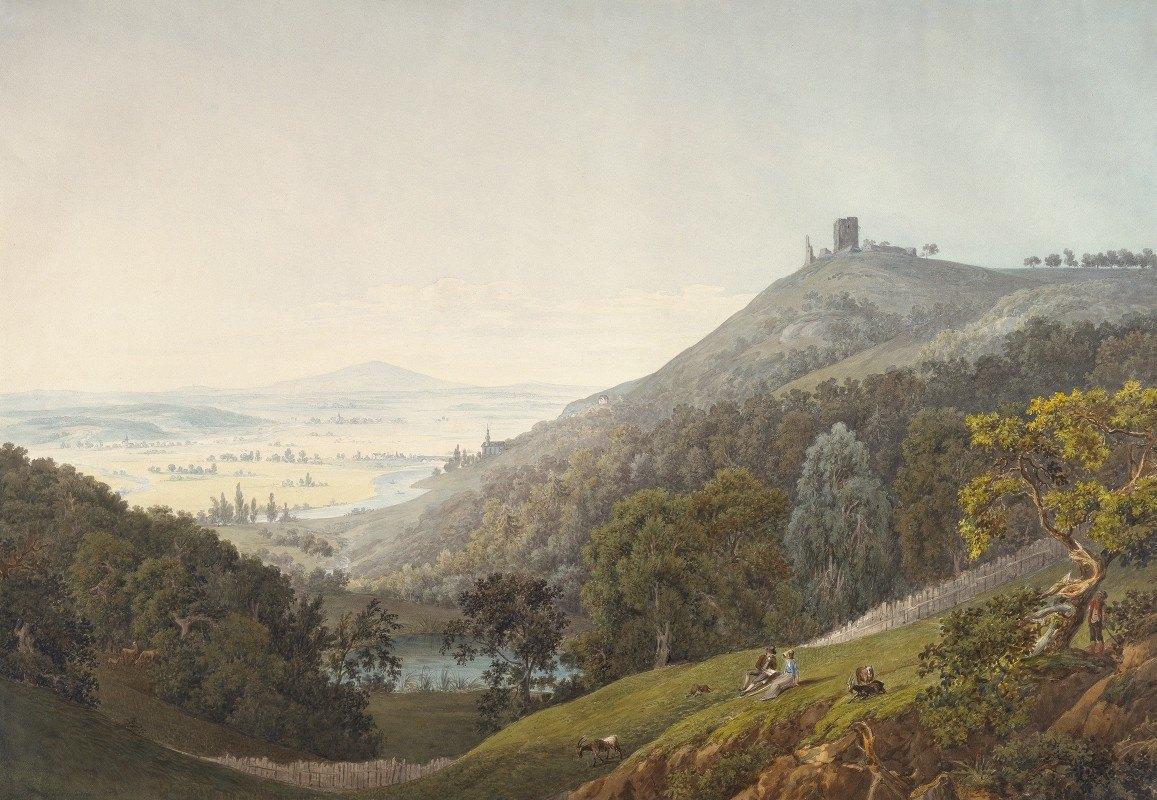 Friedrich Christian Reinermann - The Ruin of Kalsmunt near Wetzlar